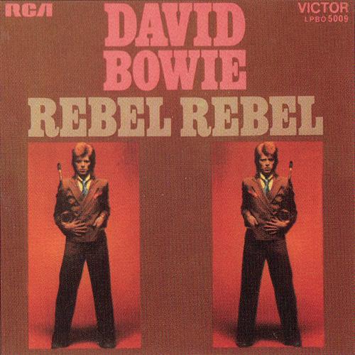 """David Bowie – """"Rebel Rebel"""". #TrackDelDía"""