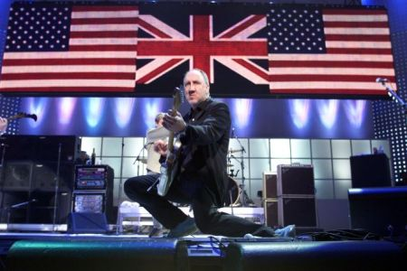Pete Townshend Performs At The Concert For NYC