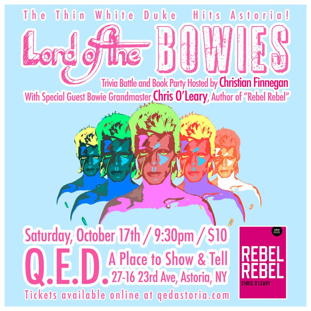 Rebel Rebel | Pushing Ahead of the Dame